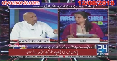 12 Aug 2018 - Ch. M Sarwar Exclusive Interview