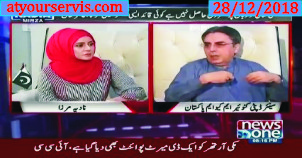 28 Dec 2018 - Amir Khan MQM Interview