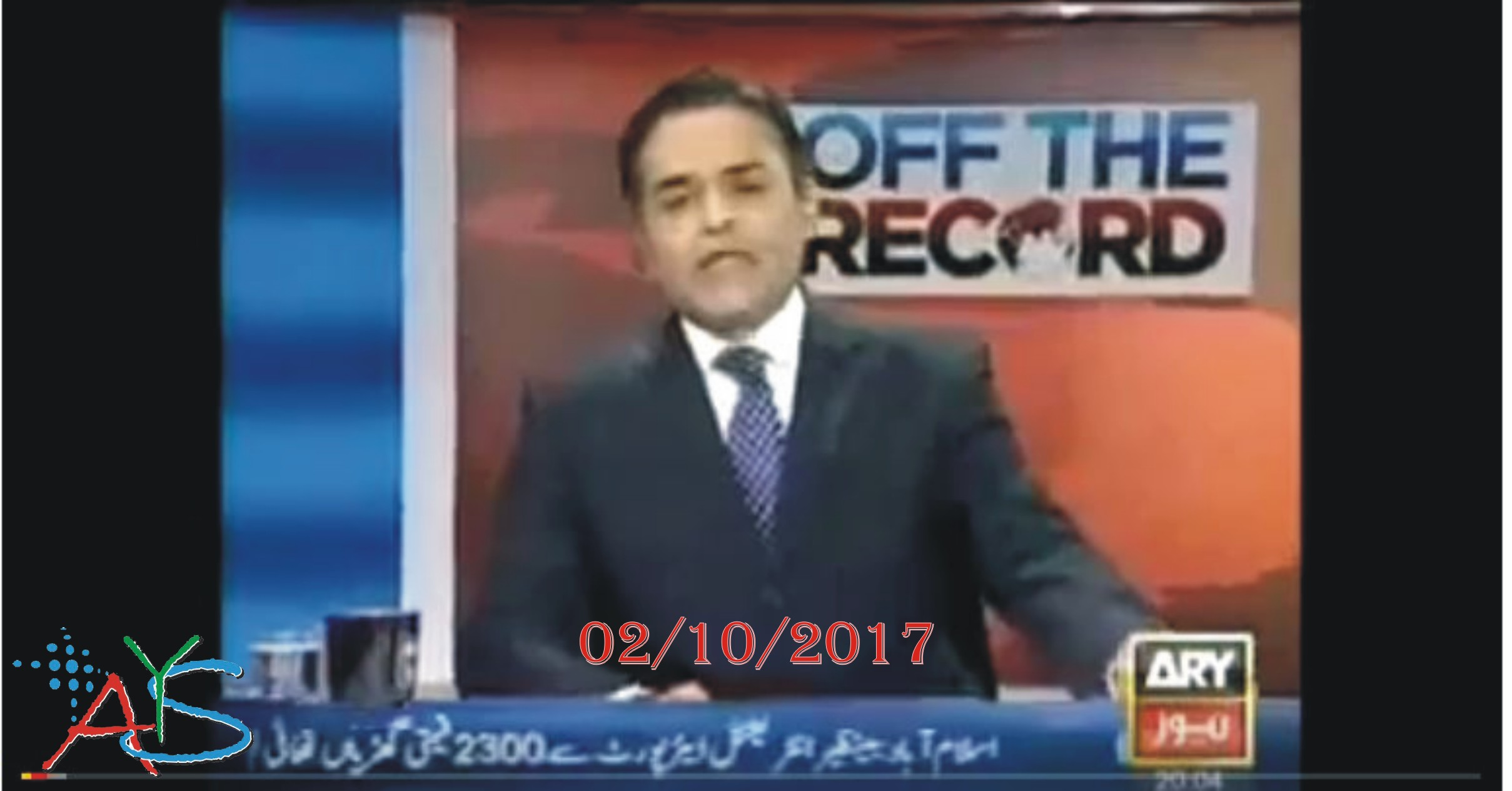 02 Oct 2017 - Off The Record with Kashif Abbasi 2nd October 2017